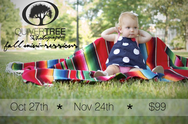 Announcing Fall Mini-Sessions :: This is a Deal!