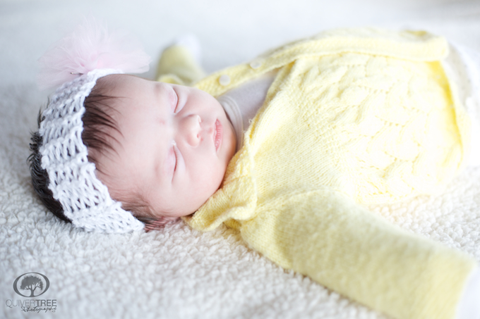 Introducing Arabella :: Our Personal Newborn Session