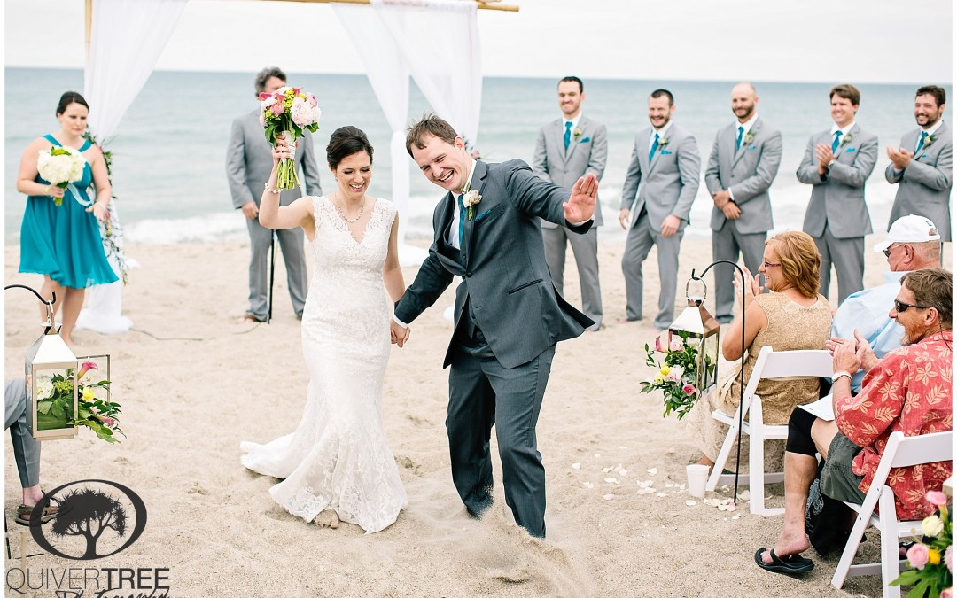 Marcus + Mariah :: A Beautiful Beach Wedding Day